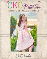Truely's Tulip Tunic & Dress Sizes 2T to 14 Kids and Dolls PDF Pattern
