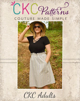 Papaya's Paperbag Waist Skirt Sizes XXS to 3X Adults PDF Pattern