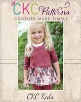 Thea's Knotted Top Sizes 2T to 14 Kids PDF Pattern