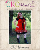 Cassidy's Corset Cover Dress and Top Sizes XS to XL Adults PDF Pattern