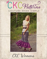 Gloria's Maxi Skirt Sizes XS to XL Adults PDF Pattern