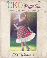 Harmony's Twirly Lace Skirt Sizes XS to 5X Adults PDF Pattern