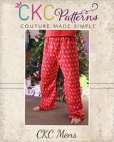 Taylor's Pajama Pants Sizes XS to 5X Adults PDF Pattern