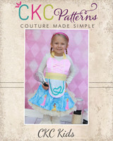 Teronia's Reversible Sweetheart Apron Sizes 6/12m to XL Adults PDF Pattern