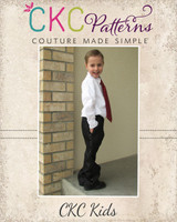 Patrick's Dress Pants PDF Pattern