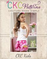 Iris' Frilly Shorts Sizes 6/12m to 8 Kids and Dolls PDF Pattern