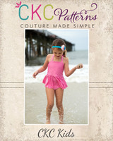 Arielle's Tankini Sizes 2T to 8 Kids PDF Pattern