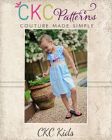 Flora's Flowing Summer High-Low Dress Sizes 6/12m to 15/16 Kids PDF Pattern
