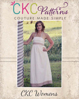 Hadley's Halter Top, Dress, and Maxi Sizes XS to XL Adults PDF Pattern