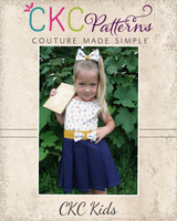 Ginny's Academy Jumper Sizes 6/12m to 8 Kids PDF Pattern