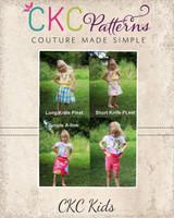 Junie's Everyday Skort Sizes 6/12m to 8 Kids PDF Pattern