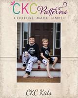 Josh's Knit Pajamas Sizes 2T to 14 Kids PDF Pattern