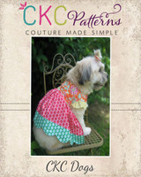 LaRae's Scalloped Dress for Small Breed Dogs PDF Pattern
