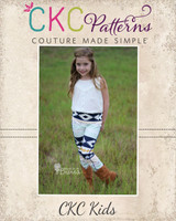 Blaycie's Skinny Pants Sizes 2T to 8 Kids PDF Pattern