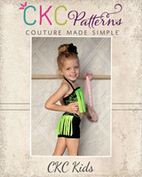 Fantasia's Fringe Dance Set Sizes 2T to 8 Kids PDF Pattern