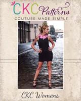 Pandora's Pleated Collar Dress Sizes XS to XL Adults PDF Pattern
