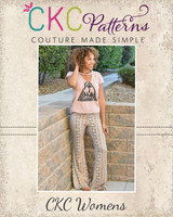 Marsha's Flared Pants and Capris Sizes XS to 5X Adults PDF Pattern
