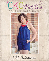 Louise's Knit Romper Sizes XS to XL Adults PDF Pattern