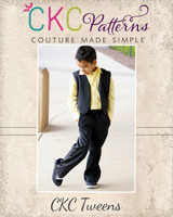 Patrick's Tween Dress Pants PDF Pattern