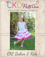 Patsy's Petticoat Sizes NB to 7/8 Kids PDF Pattern