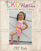 Shiloh's Shortalls and Chiffon Dress Sizes 6/12m to 15/16 Kids and Doll PDF Pattern