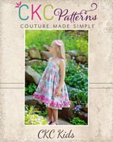 Anna's Sweetheart Halter Top and Dress Sizes 6/12m to 15/16 Kids and Dolls PDF Pattern
