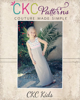 Justice's Knit Maxi, Dress, and Top Sizes NB to 15/16 Kids PDF Pattern