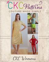 Tansy's Knit Pajamas Sizes XS to XL Adults PDF Pattern