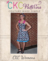 Poppy's Peekaboo Dress Sizes XS to XL AdultsPDF Pattern
