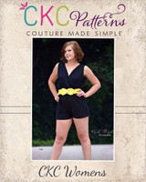 Camila's Crossover Romper Sizes XS to XL Adults PDF Pattern