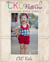 Rizzo's Retro Shorts Sizes 6/12m to 8 Kids PDF Pattern