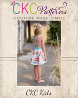 Everlee's Dress & Maxi Sizes 6/12m to 15/16 Kids and Dolls PDF Pattern