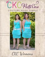 Nevaeh's Knit A-Line Pocket Skirt Sizes XS to 5X Adults PDF Pattern