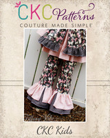 Bonnie's Princess Pants and Capris Sizes 6/12m to 8 Kids and Dolls PDF Pattern