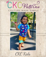 Alex's Rash Guard Tee Sizes 2T to 14 Kids PDF Pattern