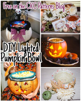 CKC's Spooky Side:  Light Up Pumpkin Treat Bowl