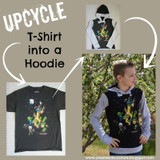 How to Upcycle a Store-bought Tee