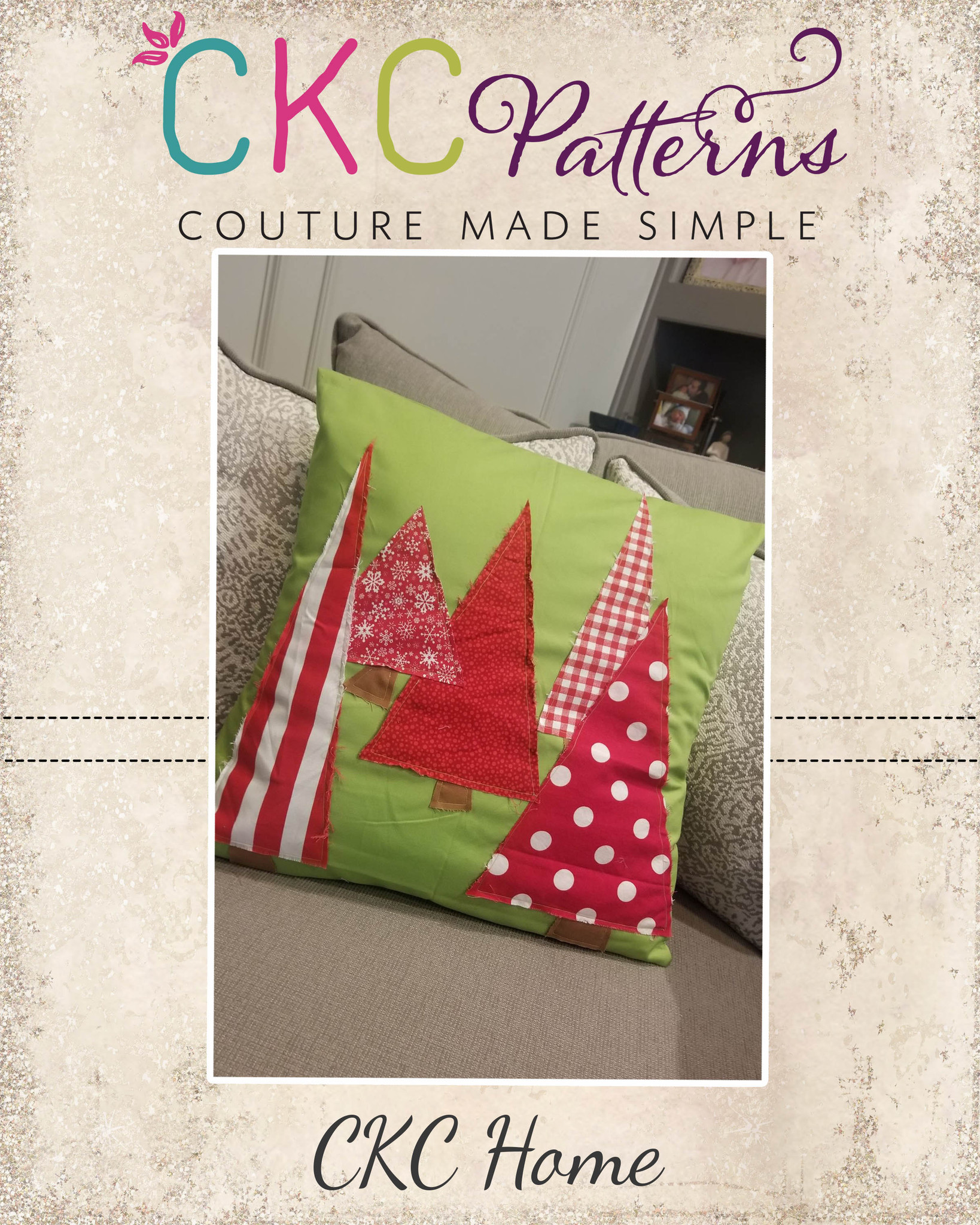 12 Days of Christmas - Christmas Tree Pillow