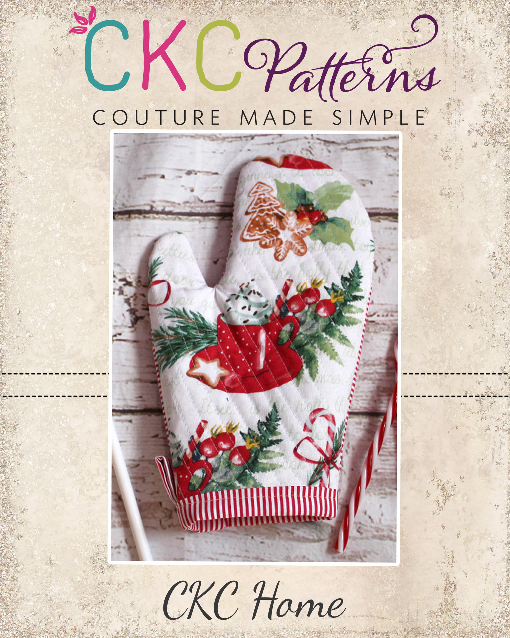 12 Days of Christmas - Saint Nick's Oven Mitt