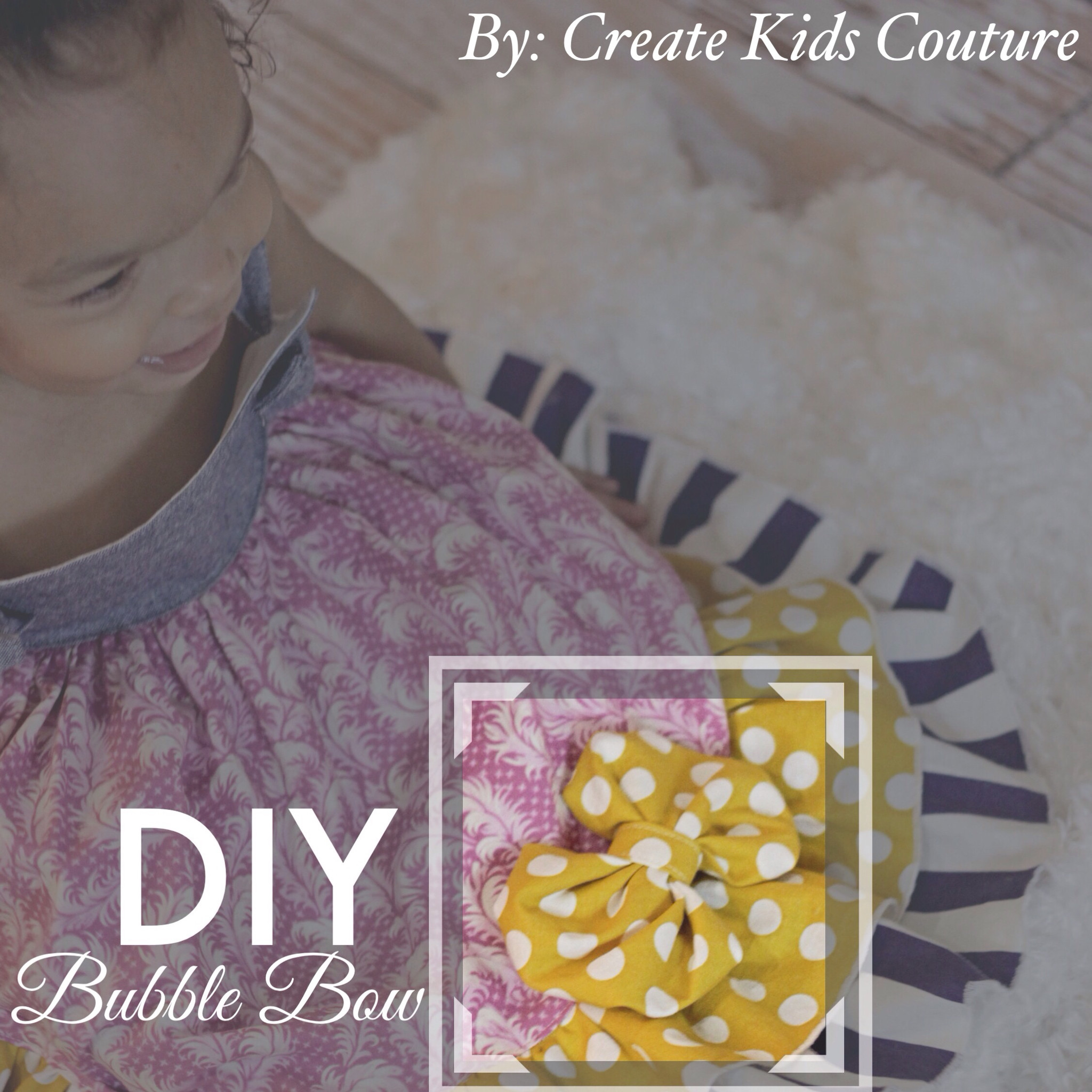 16th Day of Christmas:  DIY Bubble Bow