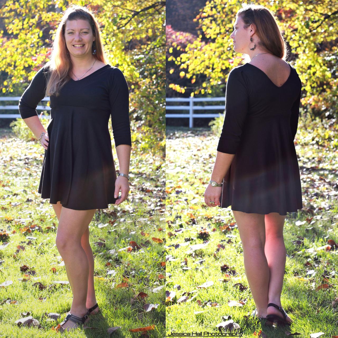 Kimber's Circle Dress Sizes XS to XL Adults PDF Pattern