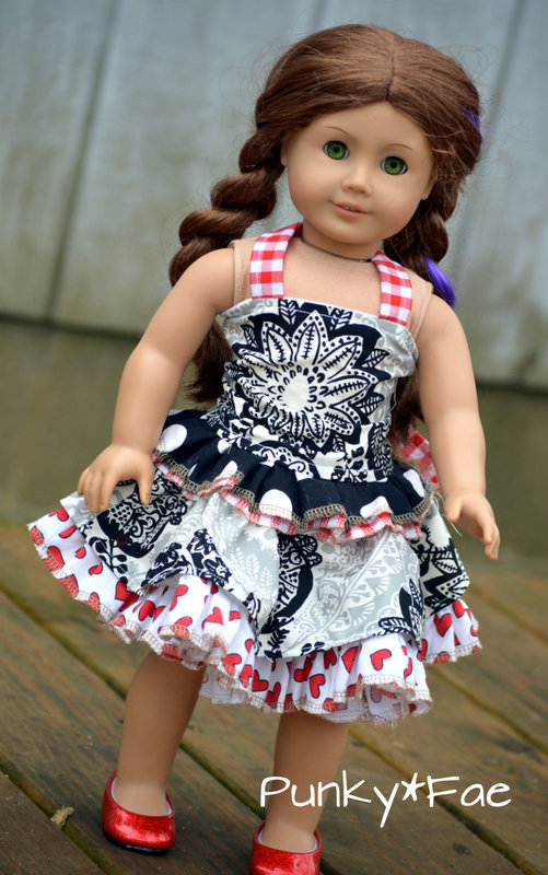Charlotte's Corset Top Sizes 6/12m to 8 Kids and Dolls PDF Pattern