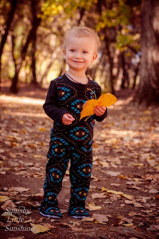 David's Knit Shirt and Footed Pants Set Sizes NB to 18/24m Babies PDF Pattern