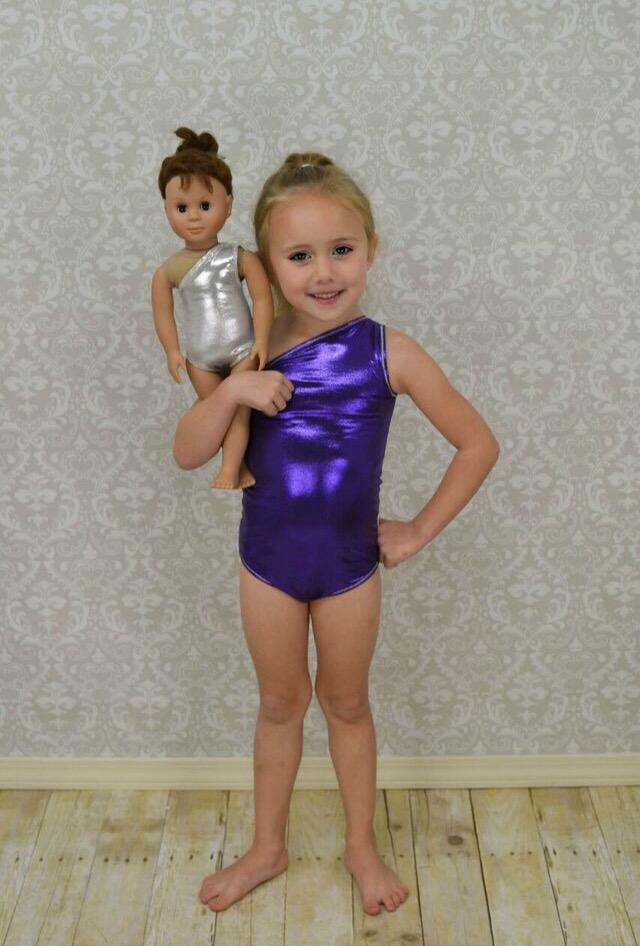 Asia's Asymmetrical 3-in-1 Doll Size PDF Pattern