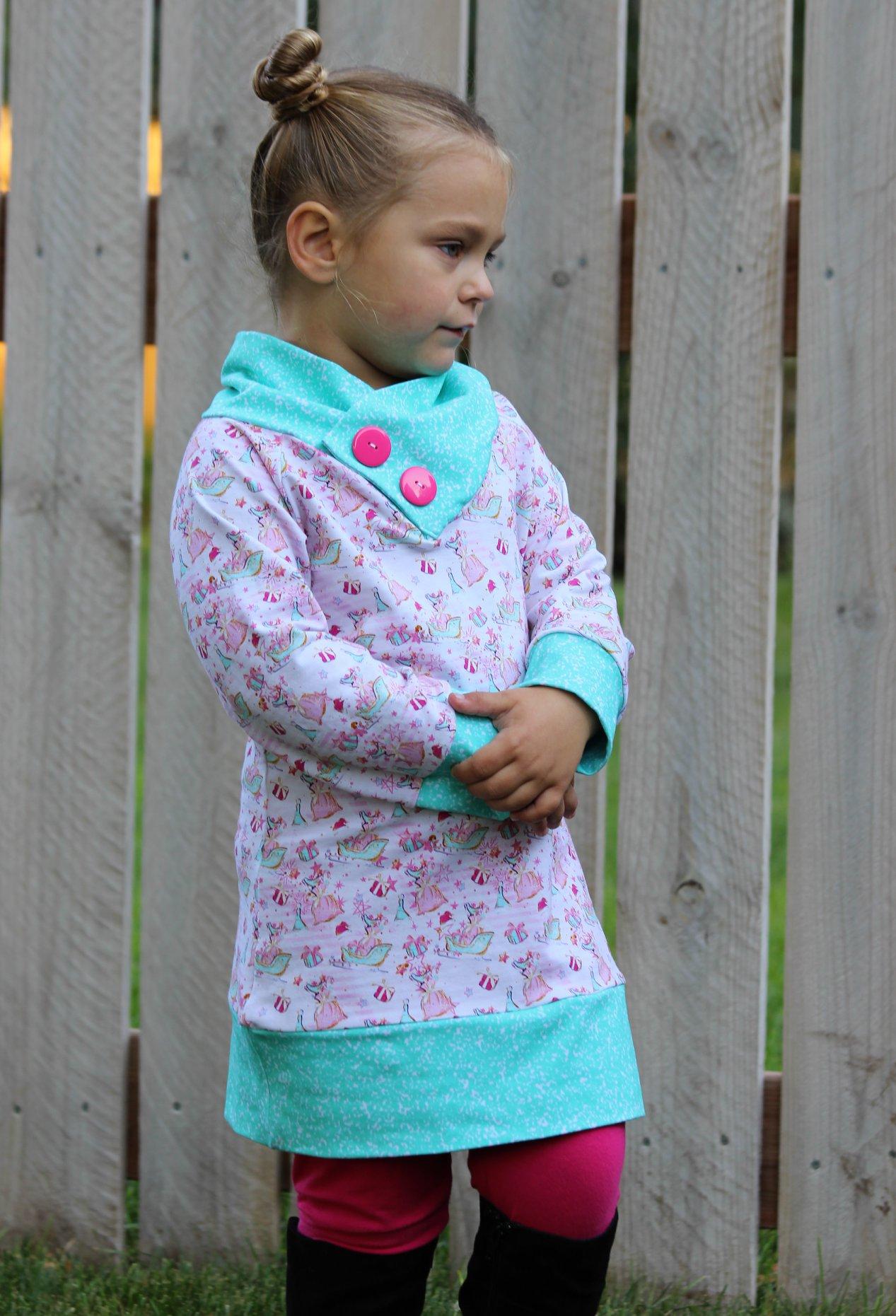 Sheridan's Sweater Dress and Top Sizes 6/12m to 15/16 Kids PDF Pattern