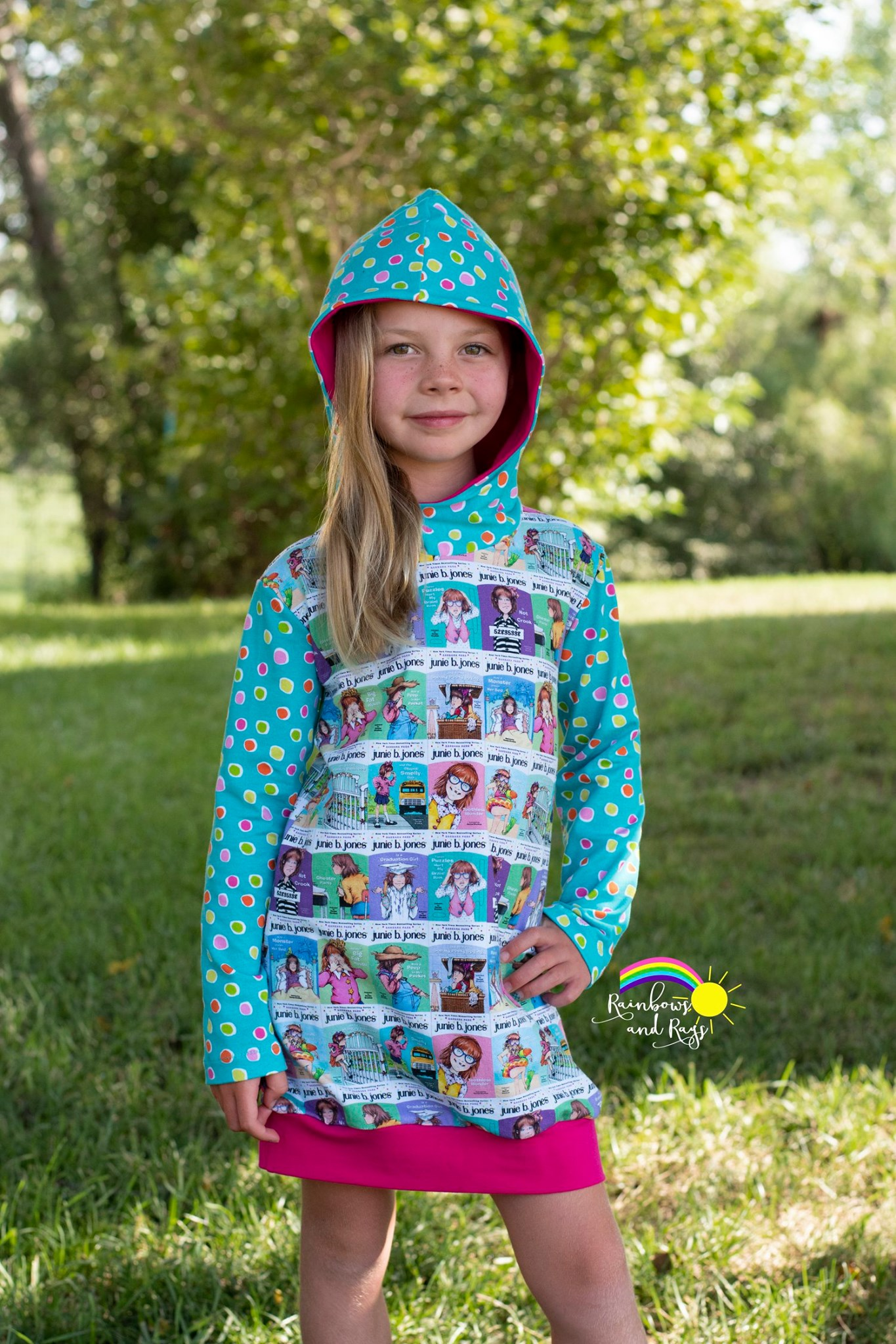 Haven's Hoodie Dress Sizes 6/12m to 15/16 Kids PDF Pattern