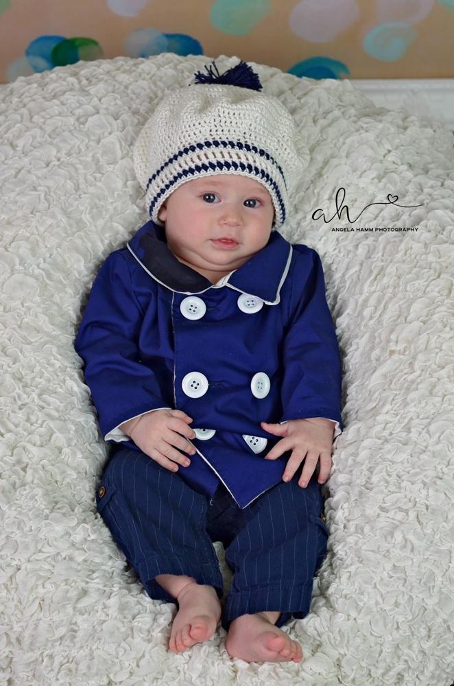 Finn's Pea Coat Sizes NB to 15/16 Kids PDF Pattern