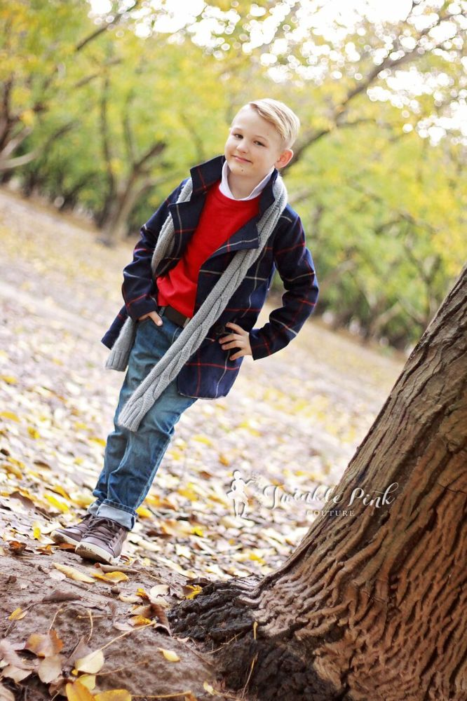 Finn's Pea Coat Sizes NB to 15/16 Kids PDF Pattern