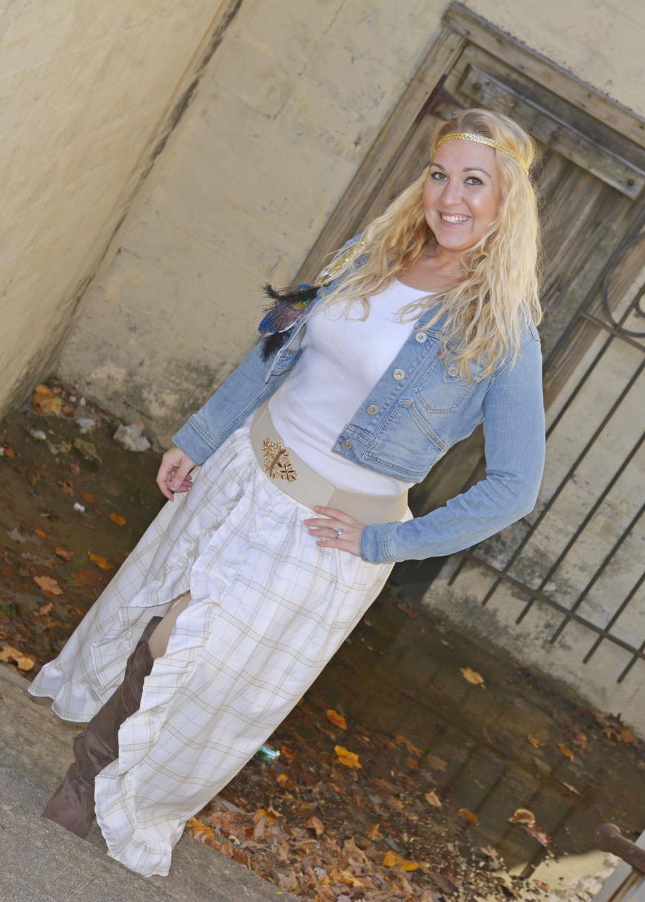 Savvy's Split Maxi Skirt Sizes XS to XL Adults PDF Pattern