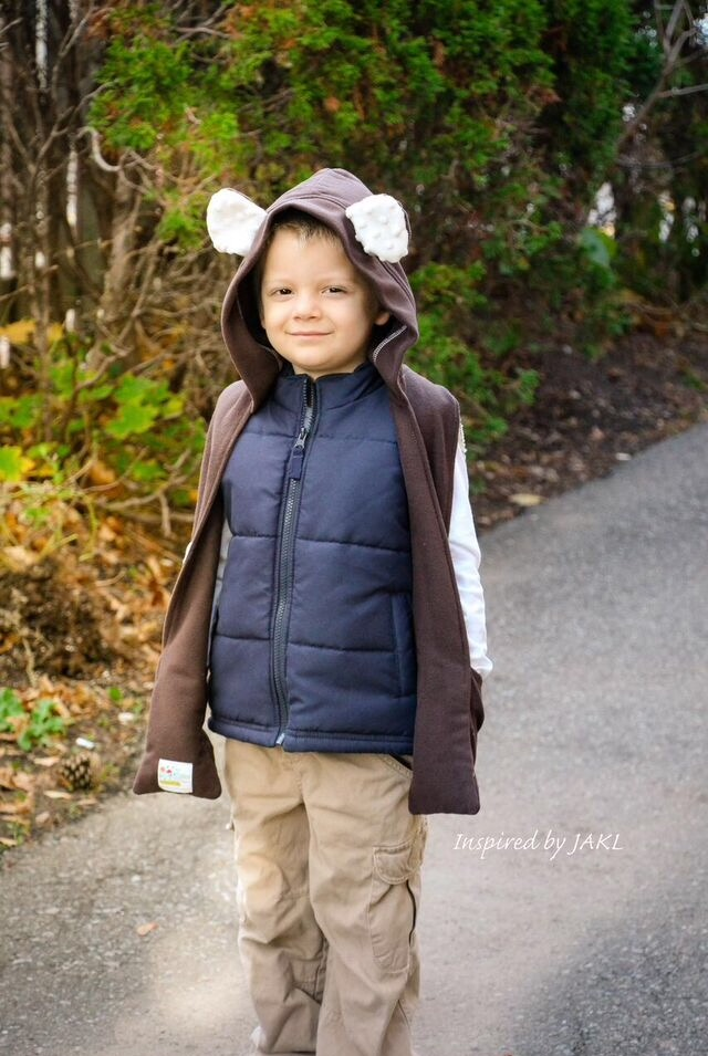 Winter's Hooded Wrap Sizes 6/12m to 15/16 Kids and Dolls PDF Pattern